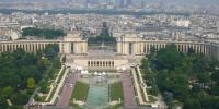 Paříž - pohled z Eiffelovy věže