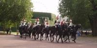 Londýn - Královská jízdní garda