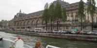 Paříž - lodí po Seině