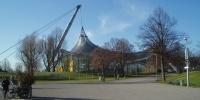 Mnichov - pohled z věže-olymp.stadion.JPG